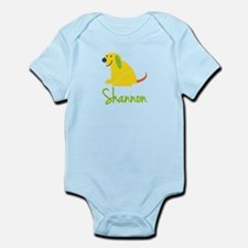 Shannon Loves Puppies Onesie