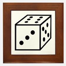 Dice Framed Tile