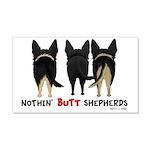 Nothin' Butt Shepherds 22x14 Wall Peel
