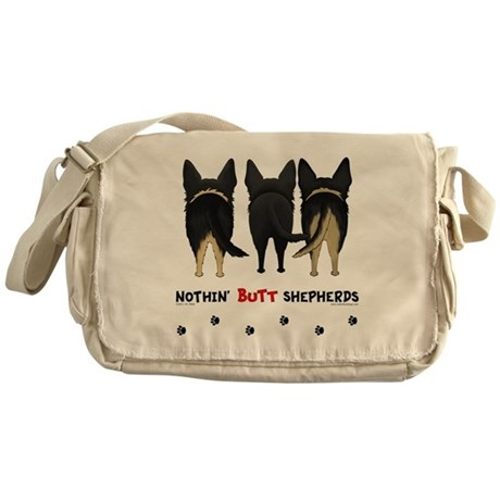 Nothin' Butt Shepherds Messenger Bag