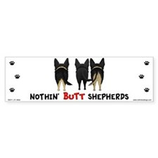 Nothin' Butt Shepherds Car Sticker
