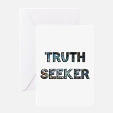 Truth Seeker Greeting Card