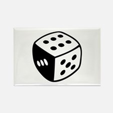 Dice Rectangle Magnet