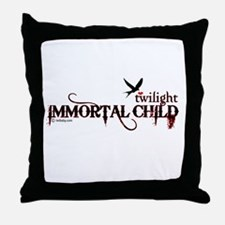 Twilight Immortal Child by Twibaby Throw Pillow