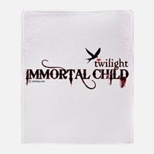 Twilight Immortal Child by Twibaby Throw Blanket