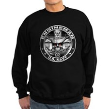 USN Engineman Skull EN Dont T Sweatshirt