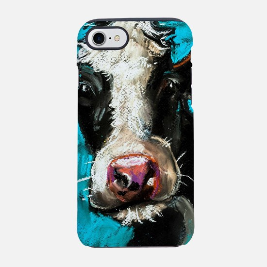 Cow Painting iPhone 7 Tough Case