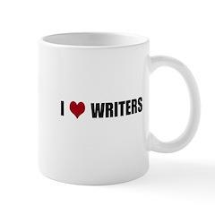 I Heart Writers Mug