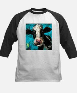 Cow Painting Baseball Jersey