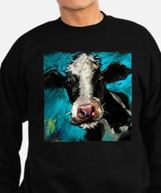 Cow Painting Sweatshirt