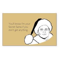 Giftless Secret Santa Decal