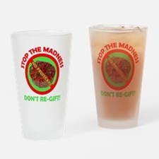 No Fruitcake Drinking Glass