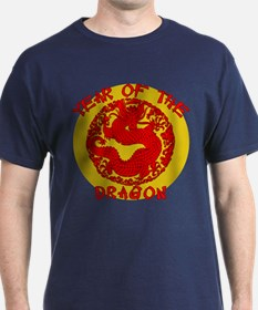 Red & Gold Yr of the Dragon T-Shirt