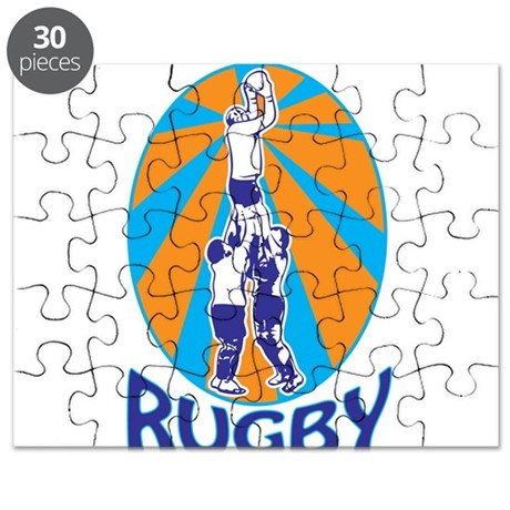 rugby line out Puzzle