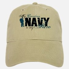 Grandson Hero3 - Navy Baseball Baseball Cap