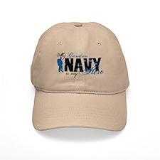 Grandson Hero3 - Navy Baseball Cap