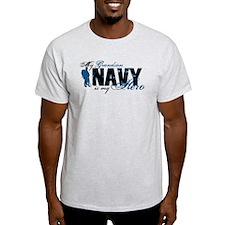 Grandson Hero3 - Navy T-Shirt