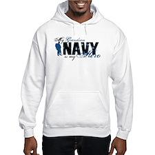 Grandson Hero3 - Navy Hoodie