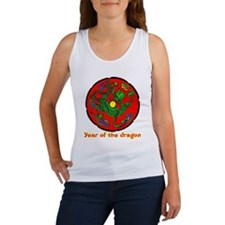 Multicolor Year of the Dragon Women's Tank Top