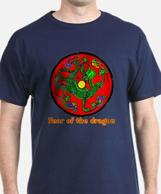 Multicolor Year of the Dragon T-Shirt