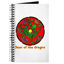 Multicolor Year of the Dragon Journal