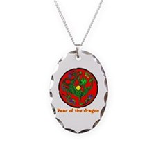 Multicolor Year of the Dragon Necklace