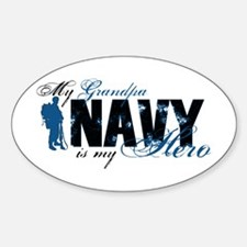 Grandpa Hero3 - Navy Decal