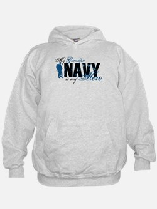 Grandpa Hero3 - Navy Hoodie