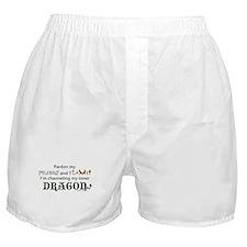 Queen of Snark Boxer Shorts