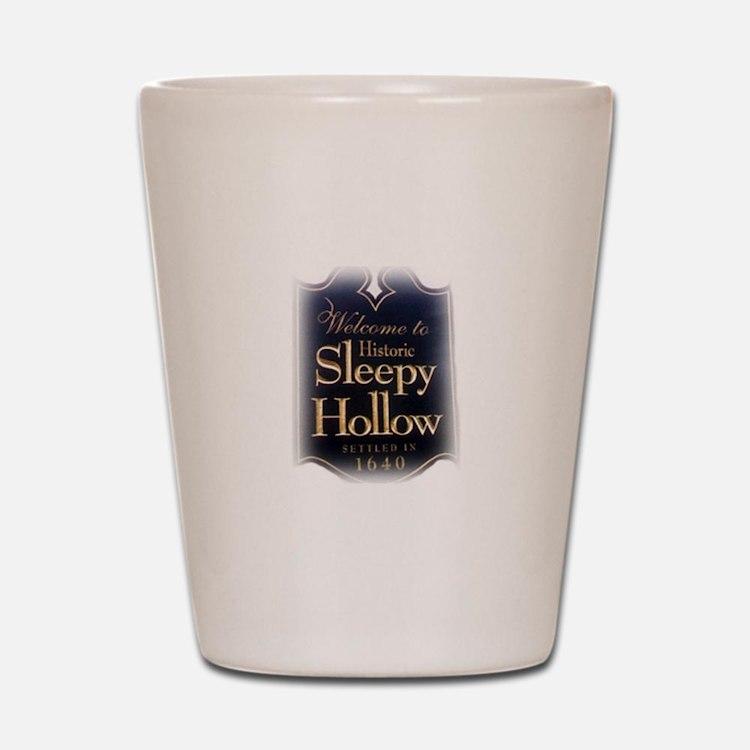 Sleepy Hollow Shot Glass