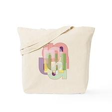 Letter N Tote Bag