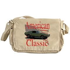 67 Mustang Fastback Messenger Bag
