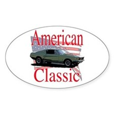 67 Mustang Fastback Decal