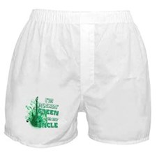 I'm Rockin Green for my Uncle Boxer Shorts