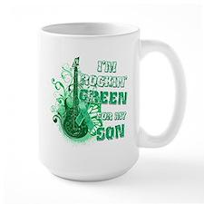 I'm Rockin Green for my Son Mug