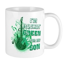 I'm Rockin Green for my Son Mug