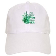 I'm Rockin Green for my Siste Baseball Cap