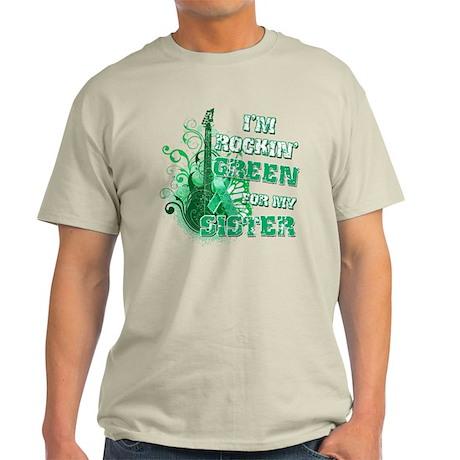 I'm Rockin Green for my Siste Light T-Shirt