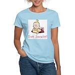 Jewish Got Borscht? Women's Pink T-Shirt