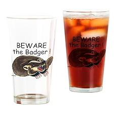 Badger - Drinking Glass