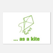... as a kite Postcards (Package of 8)