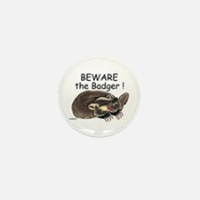 Badger - Mini Button (10 pack)