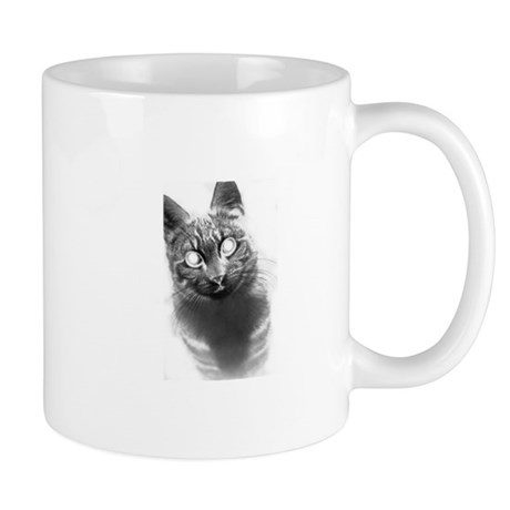 Ghostly Cat Mug