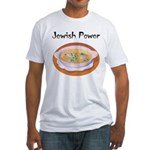 Jewish Power Fitted T-Shirt