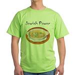 Jewish Power Green T-Shirt