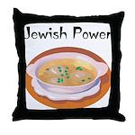Jewish Power Throw Pillow