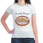 Jewish Power Jr. Ringer T-Shirt