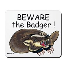 Badger - Mousepad