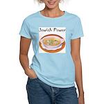 Jewish Power Women's Pink T-Shirt