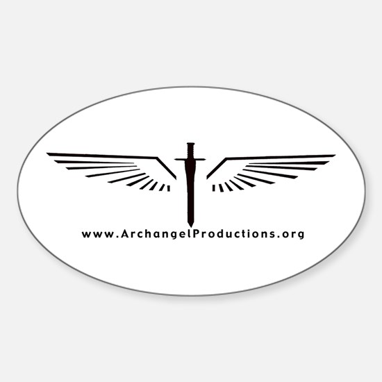 Archangel Productions wings & sword logo Decal